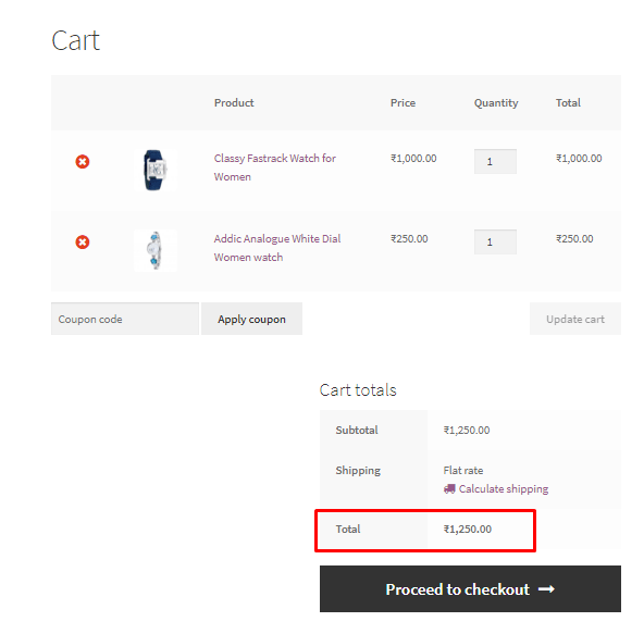 Add Cart Discount based on cart total amount in WooCommerce Snipppet